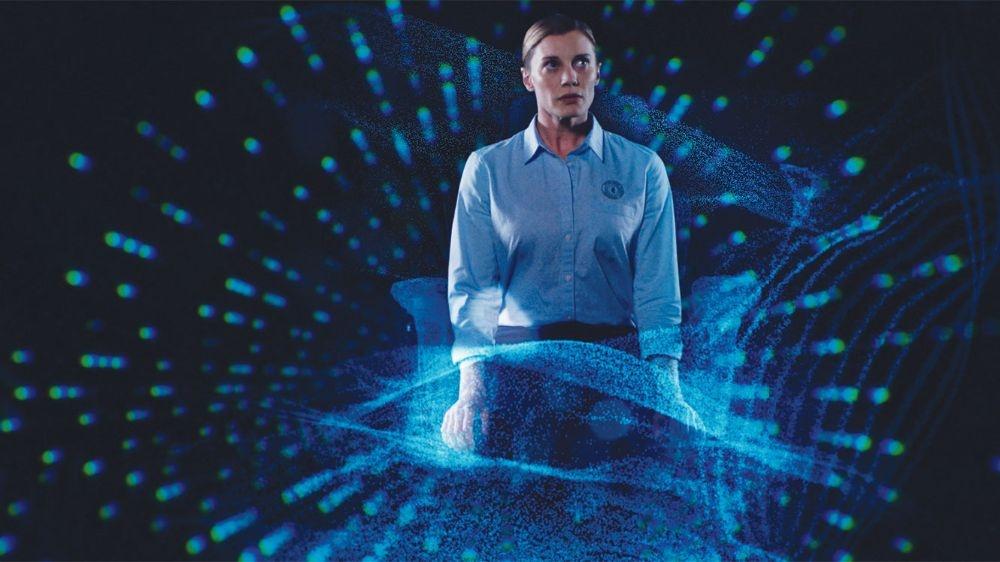 AI-Themed Blogging: 2036 ORIGIN UNKNOW Movie Review