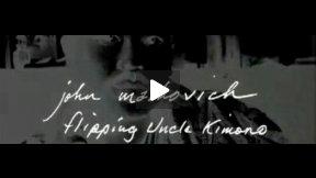 Flipping Uncle Kimono, John Malkovich, Milan Fashion Show
