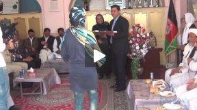 Afghanistan Education - Opening of Film Annex Internet Classroom at Houz-e-Karbas High School, Herat