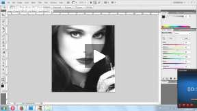 how to black and white an image in photo shop