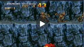 Walktrough Metal Slug 3: Alternative paths Mission 2