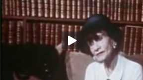 Interview with Legendary Fashion Designer Coco Chanel (1969) Part 1 of 2