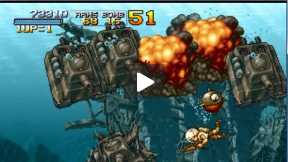 Walktrough Metal Slug 3: Alternative paths Mission 3