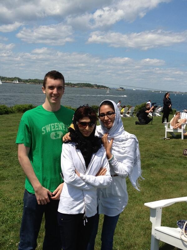 Dylan Sweeney, Roya Mahboob, and Fereshteh Forough