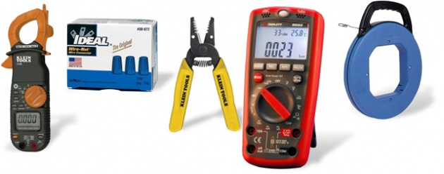 Electrical wiring and used tools (part 1) on