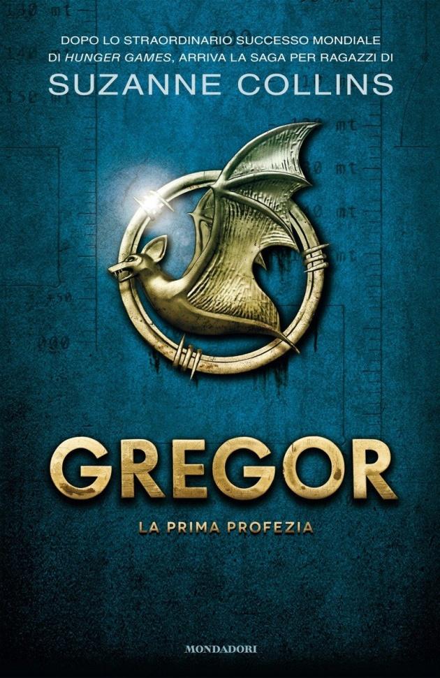 La copertina del primo libro