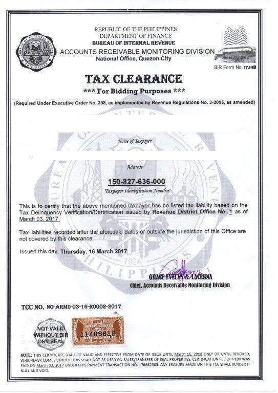 tax_clearance