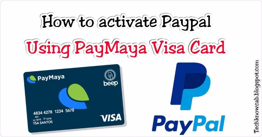 INTRODUCING PAYMAYA VISA ATM CARD, A MUST HAVE FOR FILIPINOS
