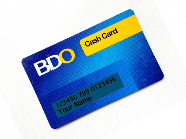 Bdo Cash Card Account Number | mamiihondenk org
