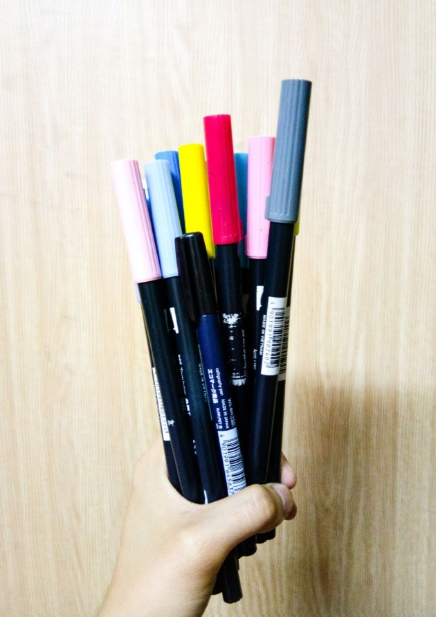 Calligraphy 101 My Top 3 Favorite Brush Pen Brands