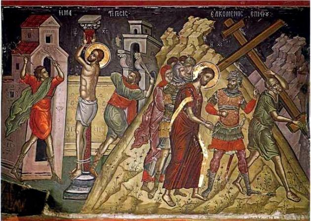 Jesus in Golgotha