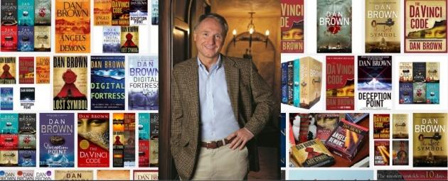 Dan Brown and book covers
