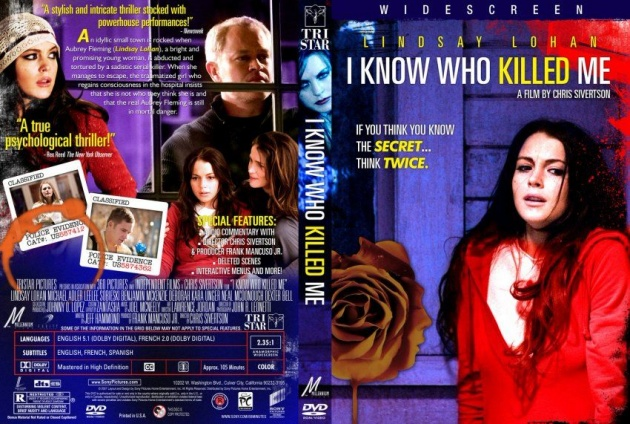 I Know Who Killed Me DVD cover