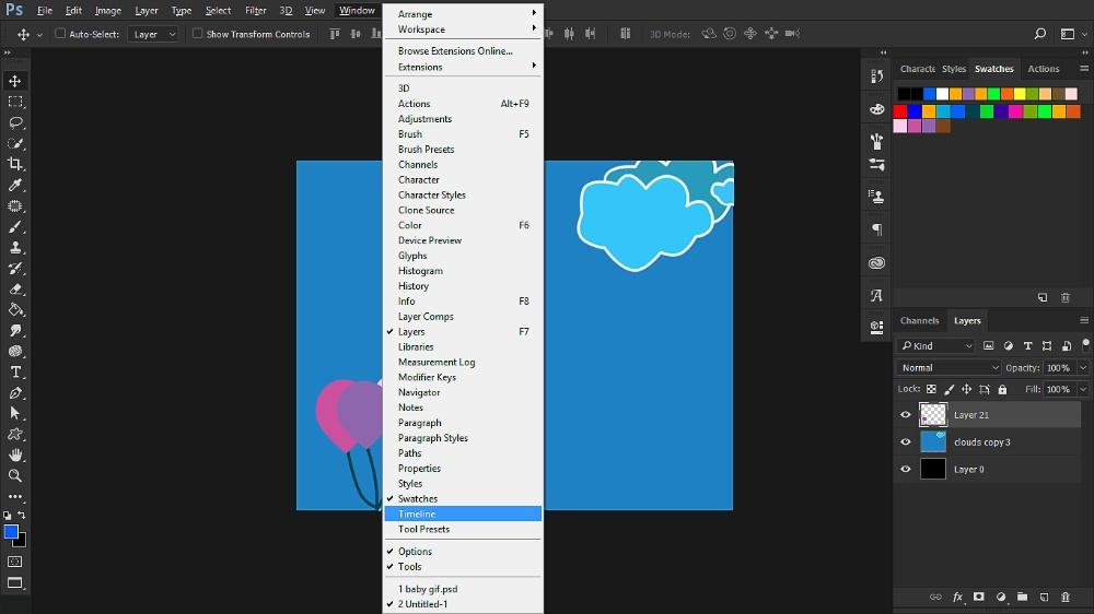 Making GIF (Graphics Interchange Format): A Web Animation