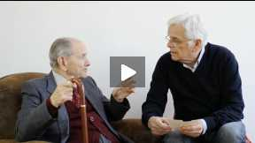 Rolando Giannoni, interview by his nephew Guido Meriggi on his life.