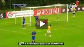 The worst female Goalkeeper ever أسوء حارسة مرمى