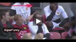 FUNNY VIDEOS-+ FUNNY FOOTBALL MOMENTS