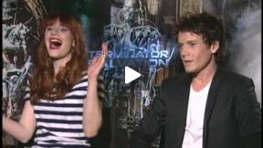 TERMINATOR SALVATION -- ANTON YELCHIN AND BRYCE DALLAS HOWARD INTERVIEW