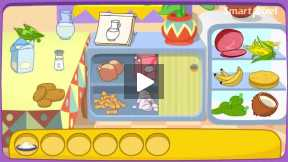 Dora cooking a sweet cooking video.Part-3
