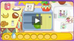 Dora cooking a sweet cooking video.Part-5