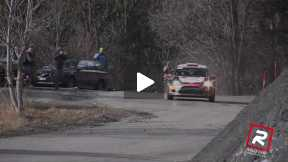 Rally Monte Carlo 2015 - SS 11 Kubica on the limit