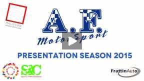 AF Motorsport - Presentation Season 2015