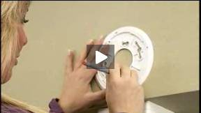 How to install a smoke/carbon monoxide detector
