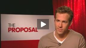 Ryan Reynolds Interview THE PROPOSAL