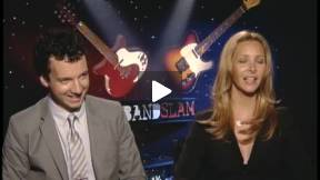 Lisa Kudrow BANDSLAM Interview with Gaelan Connell
