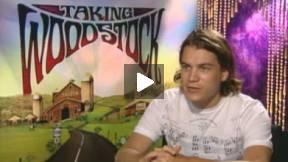Emile Hirsch Interview TAKING WOODSTOCK