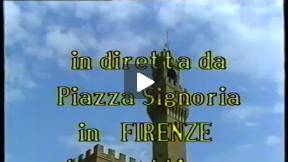1986 calcio storico fiorentino - greens vs reds