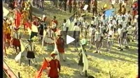 1991 calcio storico fiorentino - blues vs reds