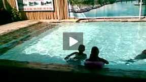 Family Swimming at Pansol, Laguna