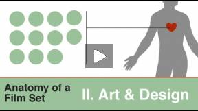 The Film Lab: Anatomy of a Film Set II, Art & Design