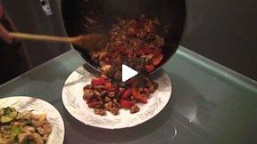 Turkey Stir Fry At Home