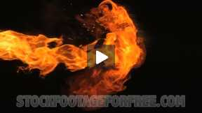 The Effect of Slow Motion Fire