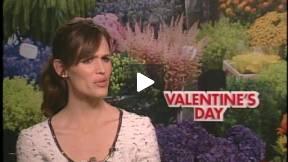 Jennifer Garner Interview VALENTINE'S DAY
