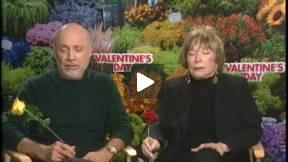 Shirley Maclaine, Hector Elizondo Interviews VALENTINE'S DAY