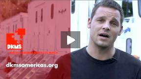Justin Chambers joins DKMS in the fight against Leukemia.