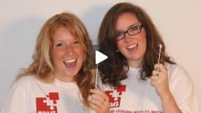 DKMS Life-Savers Stef and Regan