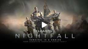 Game Movie Series-Halo- Nightfall TRAILER (2015)