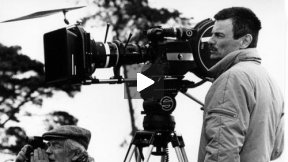Andrei Tarkovsky on the set of