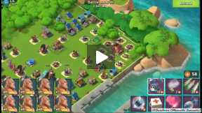 Defeating 54 Level without troops