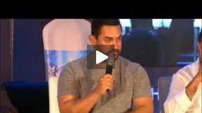 Aamir khan telling a funny joke
