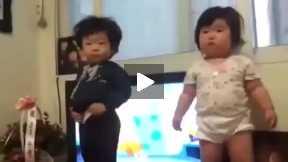 Dancing baby Korea