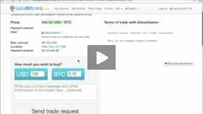 Video tutorial on localbition.com