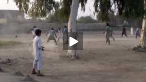 Street Soccer in my village