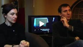 CIELO SENZA TERRA - Giovanni Maderna, Sara Pozzoli (interview)