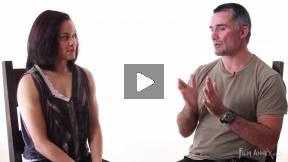 Wrestling Champion Leigh Jaynes Interviews Francesco Rulli