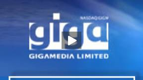 GigaMedia (GIGM) Video Stock Chart 12/3/10